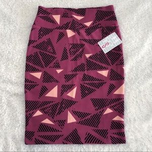 LuLaRoe Skirts - NWT - LLR Cassie (Pencil) Skirt Geometric Design